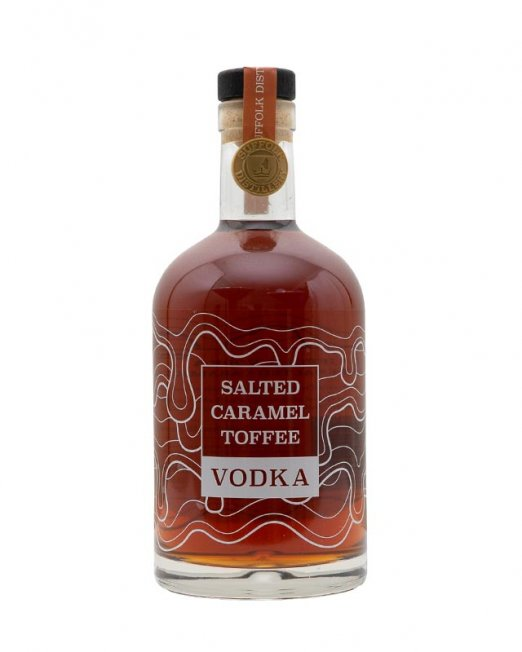 Salated Caramel Vodka, Suffolk Distillery