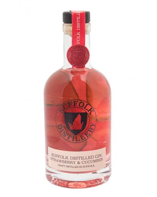 Strawberry And Cucumber Suffolk Gin