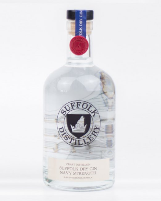 Navy Strength Suffolk Dry Gin - Suffolk Distillery