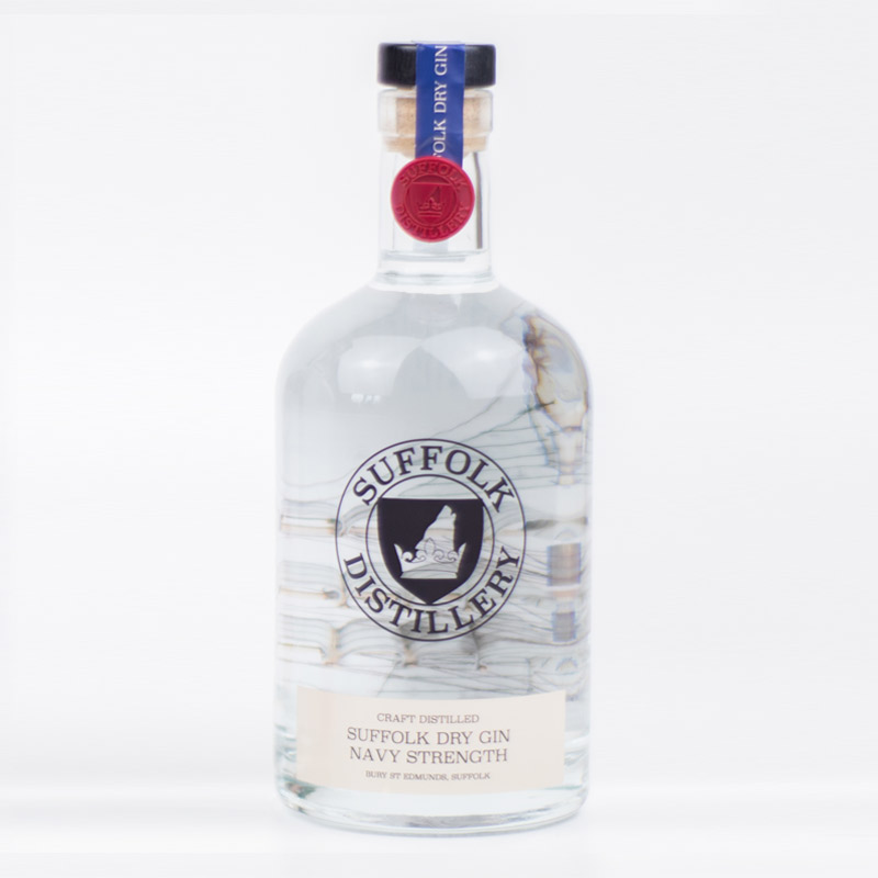 Navy Strength Suffolk Dry Gin - Suffolk Distillery